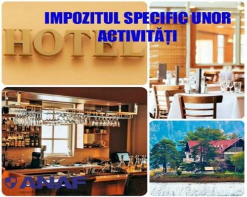 ANAF Impozit Specific firme