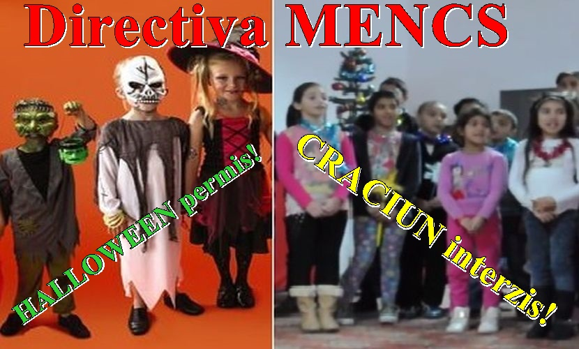Halloween Vs Craciun MENCS